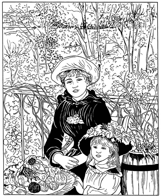 Image Result For Coloring Pages Monet