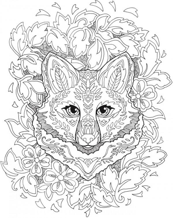 Foxmandala Stamping