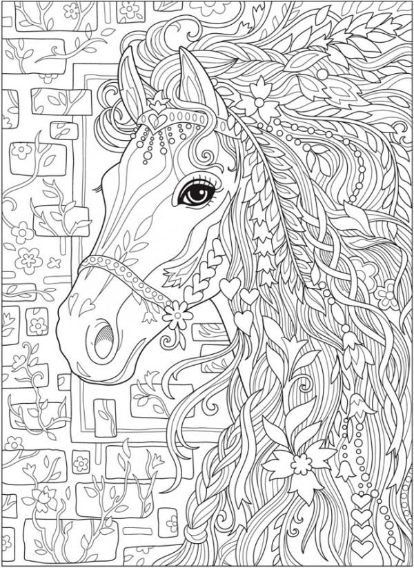 Fantasyhorsepage Stamping